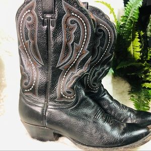 Ariat black western boots size 8B